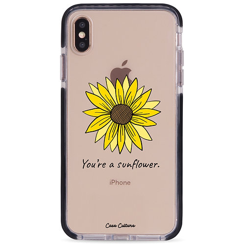 You're a Sunflower(Black Font) - รุ่น Clear Guard