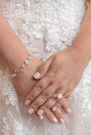 Detail of bride