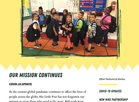 April-June 2020 Quarterly Newsletter!