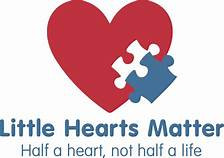 little hearts matter logo, a charity supporting families with children with hypoplastic left heart syndrome