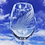 Thumbnail: Feather engraved wine glass