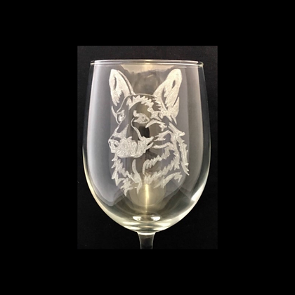 Alsatian wine glass