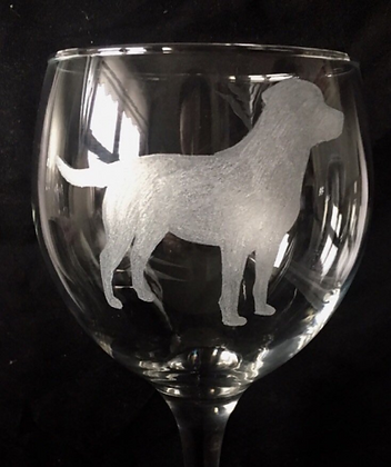 Labrador Gin glass