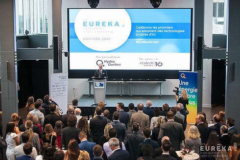 Eureka Awards by Ecotech Quebec