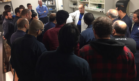TGWT Training Power Engineers Louis Godbout Laboratory