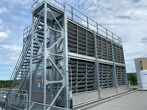 Cooling Tower Treated By TGWT