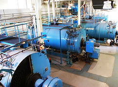 Steam Boiler Treated By TGWT