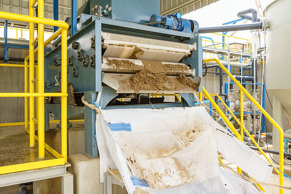 waste water belt filter press TGWT