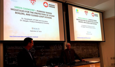 TGWT Training at McGill Dr Roger Gaudreault