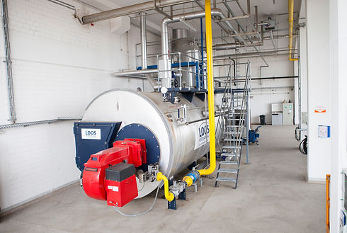 Fire Tube Boiler Treated By TGWT