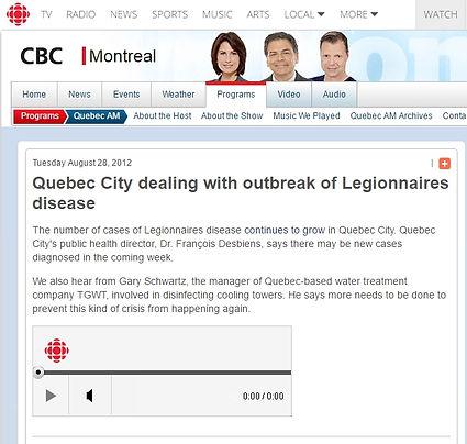 Image de l'entrevue CBC TGWT