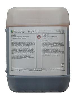 Bidon de tanins purifiés traitement d'eau chaudières eau chaude TGWT