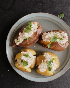 Pommes de terre avec surimi