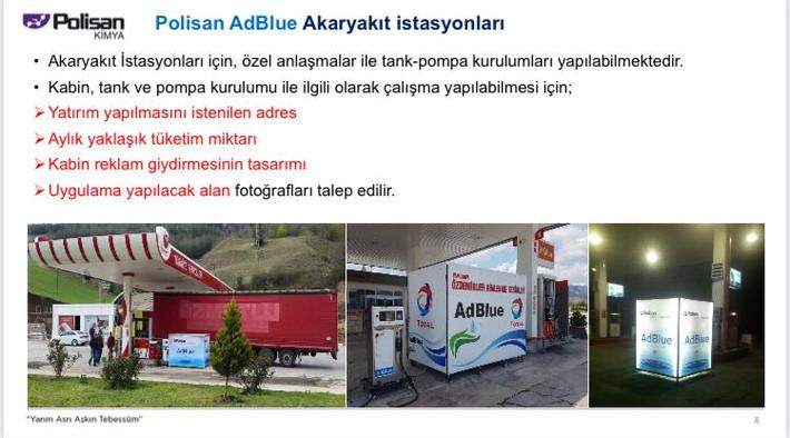 Polisan AdBlue İstasyonlar
