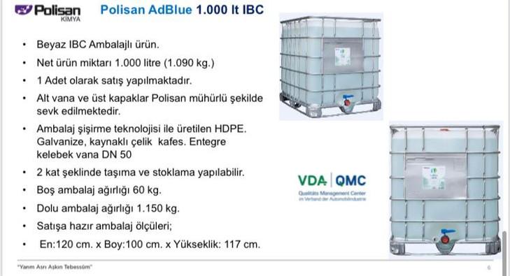Polisan AdBlue IBC