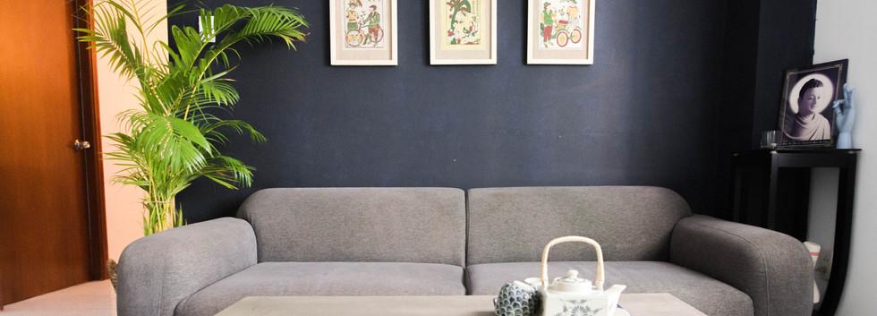 Zen Sofa Area