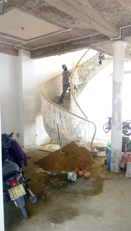 Stairs Renovation in Progress