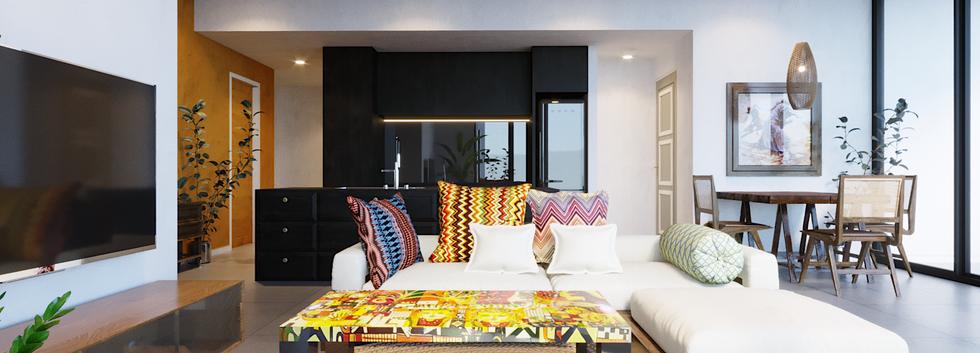 Tropicana Sofa Area