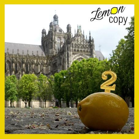 Feest: Lemon Copy 2 jaar!