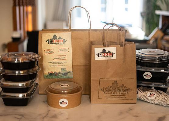 Prêts-à-manger, boîtes à lunch corporatives, service de livraison, produits locaux, et +