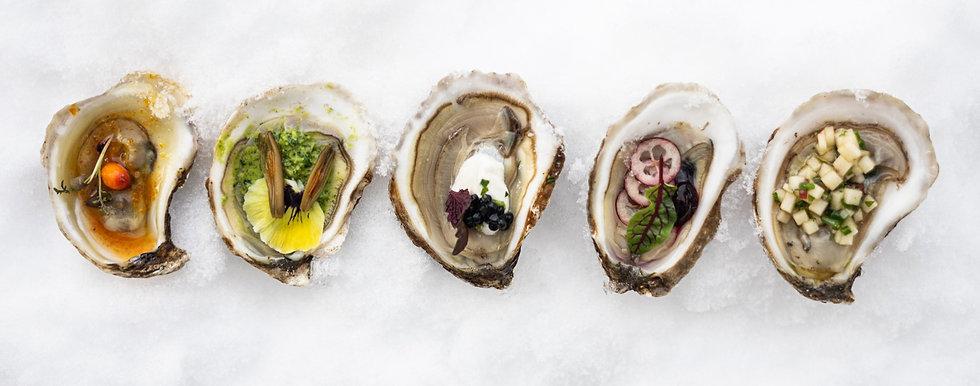 Traiteur événementiel, cocktail dînatoire, huîtres, cuisine boréale, produits locaux