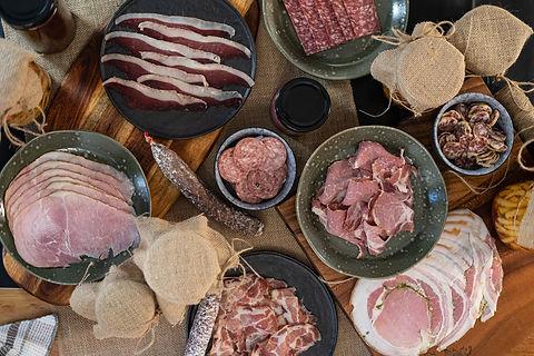 Chef à domicile, charcuteries artisanales, produits locaux