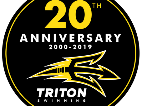 Triton Swimming Celebrates 20th Anniversary