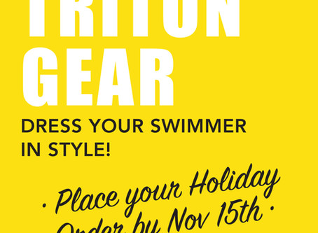 ORDER TRITON GEAR FOR THE HOLIDAYS!