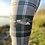 Thumbnail: The Canadian Goose Tartan Tweed Leggings (Matt Finish)