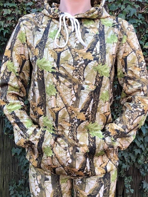 Yorkshire Forest Huntress Soft Shell Hoodie Spring Colour