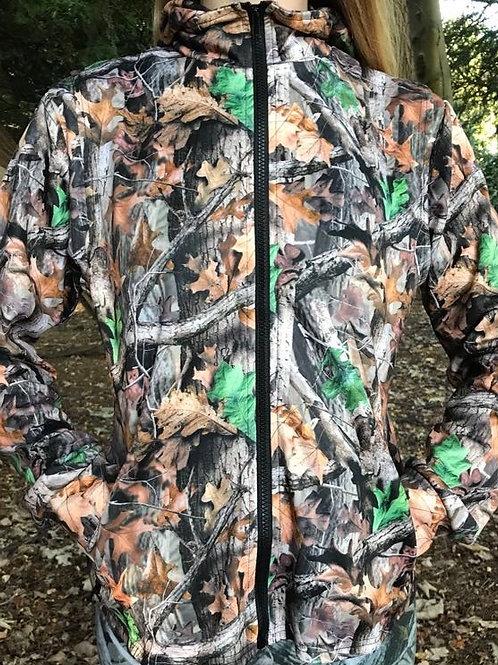Summer Huntress Soft Shell 2 Piece Hoodie Jacket