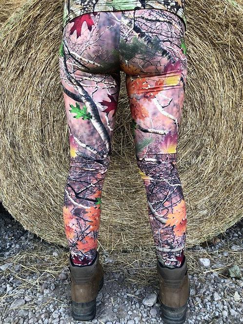 Woodland Huntress Leggings (Matt Finish)