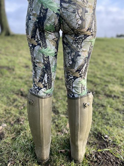 Yorkshire Forest Huntress Leggings  (Matt Finish )