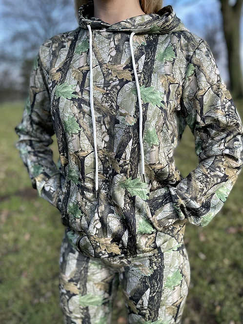 Yorkshire Forest Huntress Soft Shell Hoodie