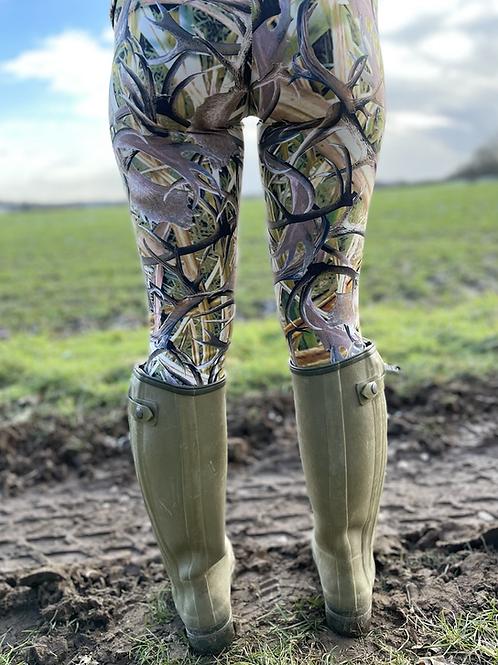 Antler Huntress Leggings  (Matt Finish)