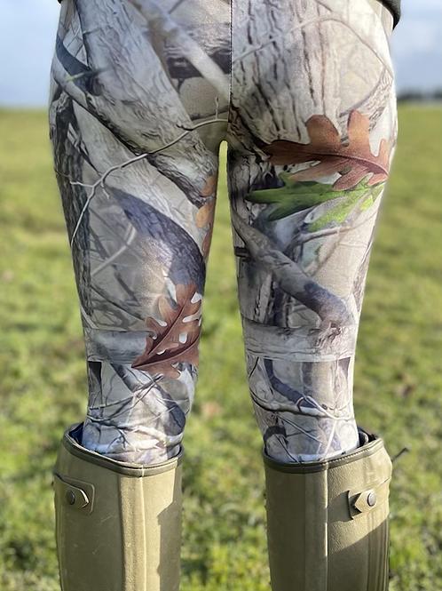 Grey Original Huntress Leggings (Matt Finish)