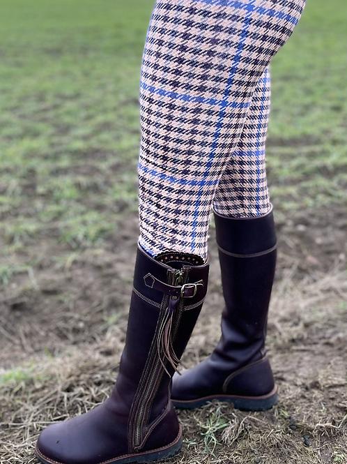 Plain Tweed Leggings (Matt Finish)