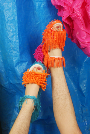 'shaggy' shoes