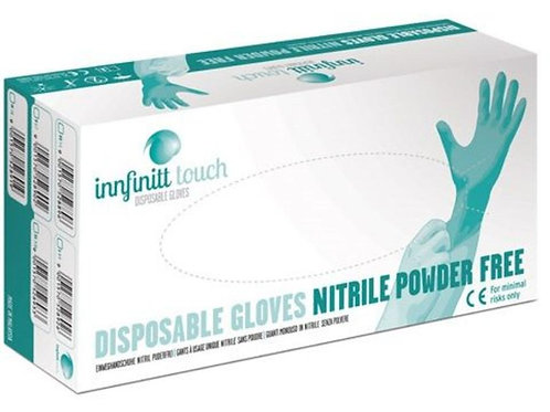 NITRIL- EINWEG-HANDSCHUHE BLAU 100er-Box