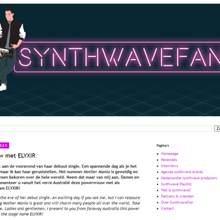 INTERVIEW with Synthwavefan