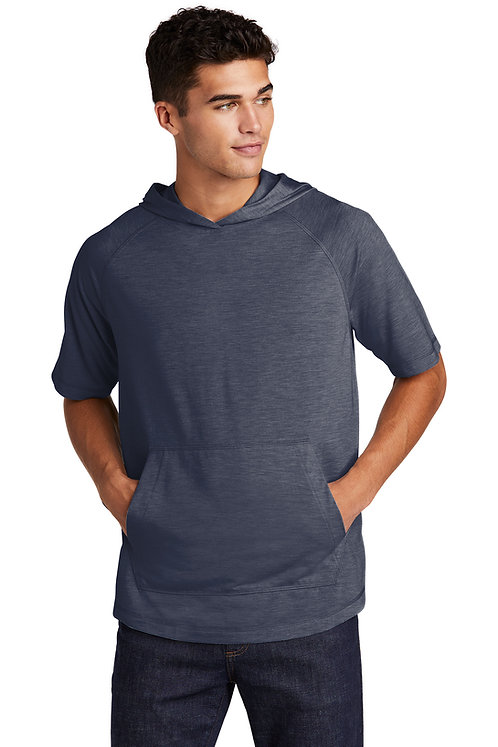ST404 Mens Short Sleeve Hooded Tee