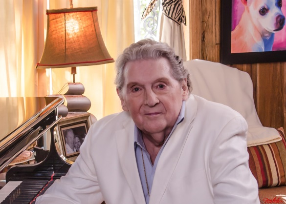 Jerry Lee Lewis at home