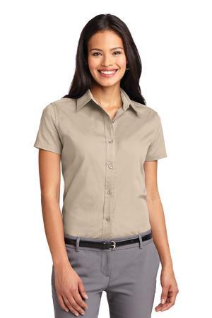L508  Ladies Short Sleeve Easy Care Shirt