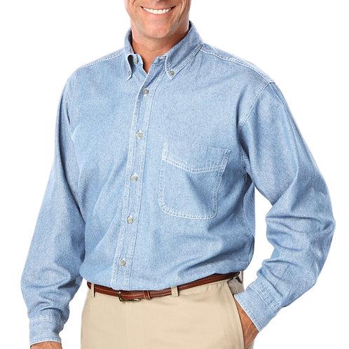 BG8206  Long Sleeve Denim Shirt