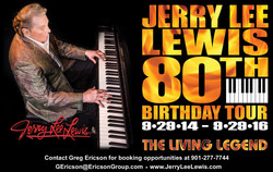 Jerry Lee Lewis 80th Birthday Tour