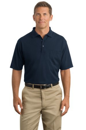 CS402P  Industrial Polo with Pocket