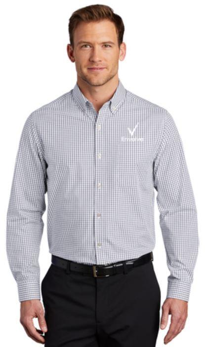W644 Men's Gingham Shirt