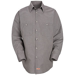 SP10  Long Sleeve Microcheck Shirt