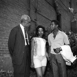 NAACP regional field secretary L.C. Bates