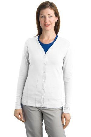 L515  Modern Stretch Cotton Cardigan